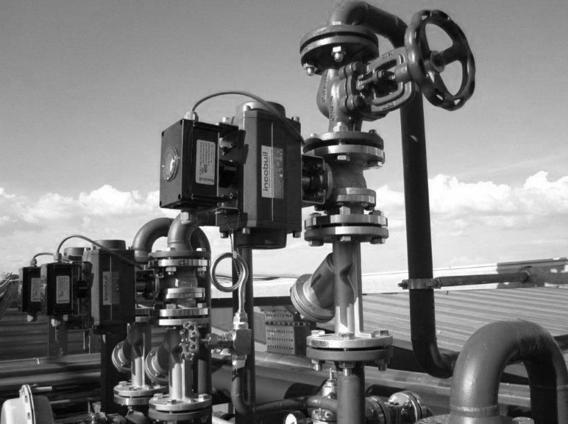 Proyectos completos de vàlvulas e instrumentación de proceso